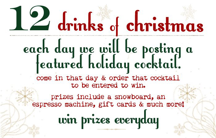 drinks of christmas - 12 Drinks Of Christmas